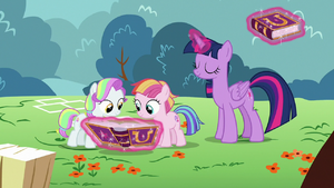Twilight Sparkle resolves another filly argument S7E14