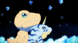 Agumon and Gabumon