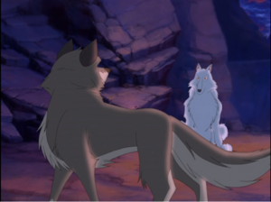 Balto and his mother