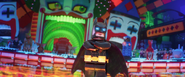 Batman seeing joker and other villains