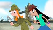 Candace y Stacy en el Puente de la Torre
