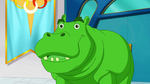 DCSG Beast Boy as Hippopotamus