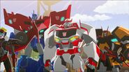 Optimus, Drift and Ratchet