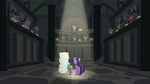 Twilight and Spike in the EEA's chamber S8E1