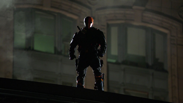 Deathstroke tails The Arrow