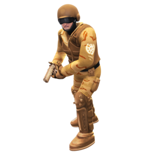 Desert GUN Soldier
