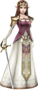 HW Zelda Era of Twilight Robes Render