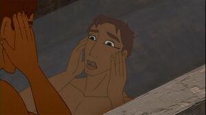 Joseph in Egyptian makeup