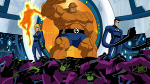 Fantastic Four earth's Mightiest Heroes