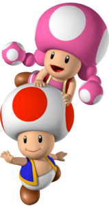 Toad and Toadette - Mario Party 7