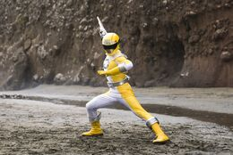 Yellow Overdrive Ranger