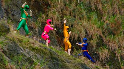 Zeo Rangers in Super Megaforce