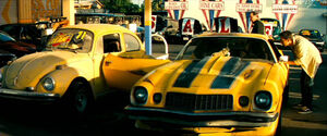 Movie2007 Bumblebee dealership