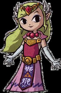 Princess Zelda Wind Waker