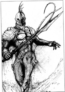 Wave Strider Body Armor (Rifts World Book, Lemuria)