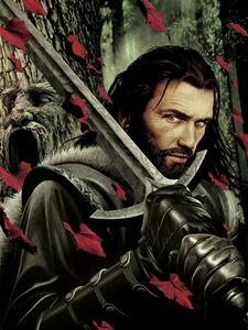 John Picacio Ned Stark