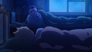 Naruto ask Boruto about his dad