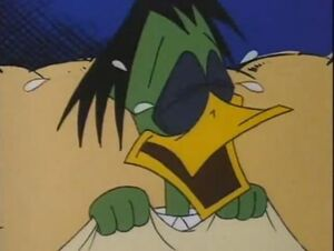 Count duckula crying