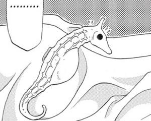 Hatori as Seahorse