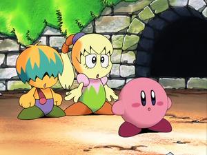 Kirby tiff and tuff seeing giant galbo