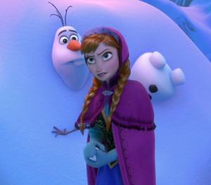 Anna facing Marshmallow