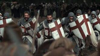 Knightfall Templar Knights Defend Jews (Battle Scene)