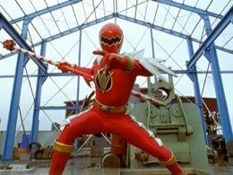 Red Dino Thunder Ranger