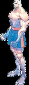 Street Fighter - Sagat as he appears in Street Fighter 2 Turbo