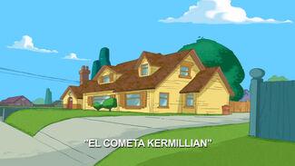El Cometa Kermillian-Card