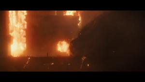 Godzilla Went To Sleep In His Lair