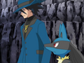 Riley and Lucario