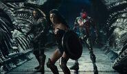 Aquaman with Wonder Woman and Cyborg