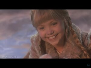 Cindy smiles