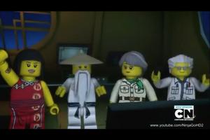 Nya, Sensei Wu, Misako & Dr. Julien