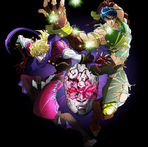 Dio and Jojo