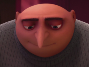 Gru smiling kindly