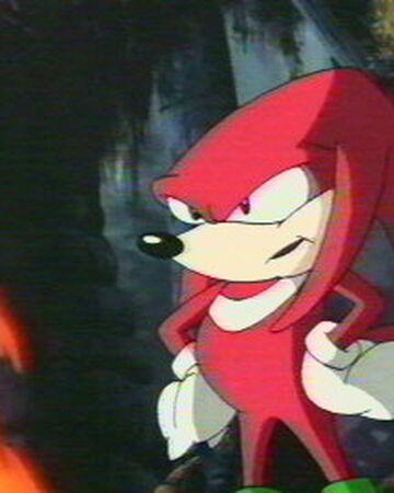 Knuckles The Echidna Sonic Underground Heroes Wiki Fandom