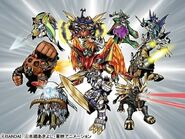 Attack of the Ten Legendary Warriors Gods