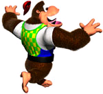 DK64 Chunky Kong Primate Punch