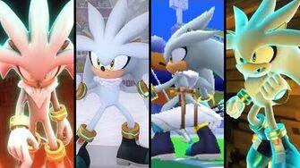 Evolution of Silver the Hedgehog (2006 - 2018)
