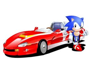 Sonic drift sonic