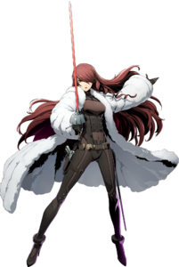 BlazBlue Cross Tag Battle Mitsuru Kirijo Main