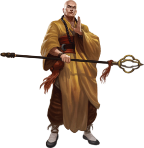 Exorcist Monk (Feng Shui, Atlas Games)