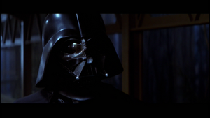 Vader conducts