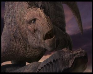 Aladar hampered by Kron