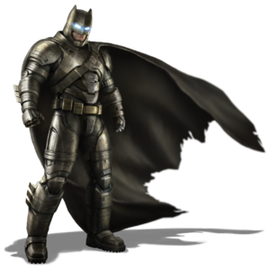 Armored Batsuit concept art