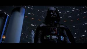 Darth Vader threatening