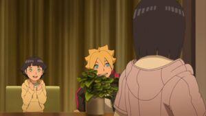 Boruto ask Hinata about her feeling for Naruto