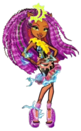 Clawdeen Wolf Electrified