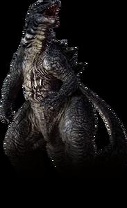 Godzilla the video game legendary godzilla by sonichedgehog2-d7u1aie